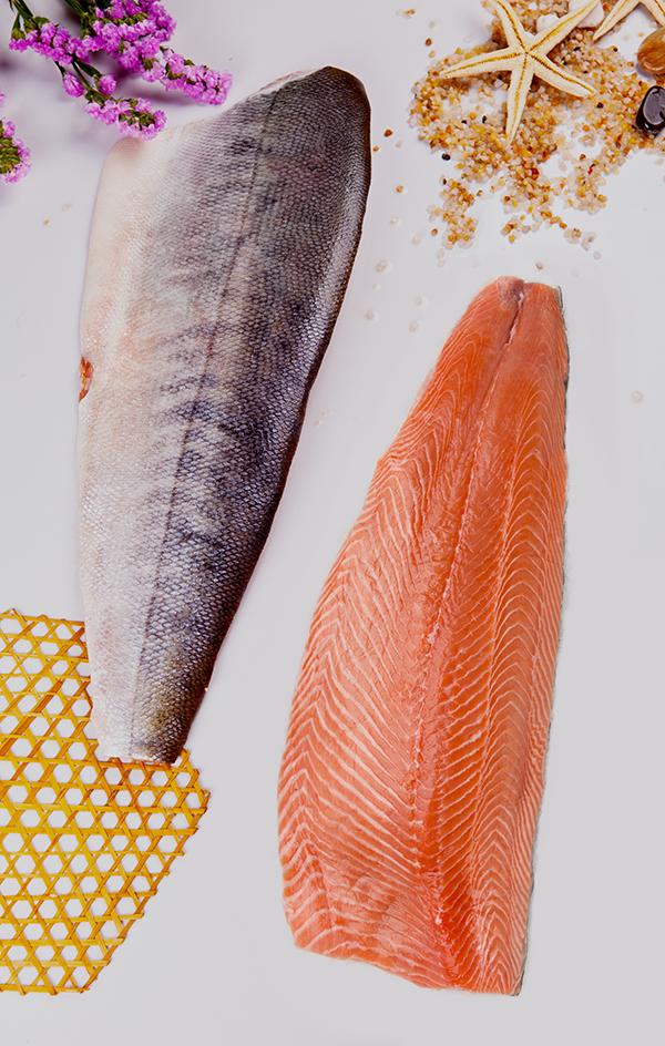 大麻哈鱼片 Chum Salmon Fillet